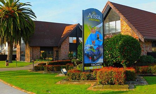 Arista of Rotorua accommodation
