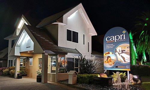 Capri on Fenton accommodation in Rotorua